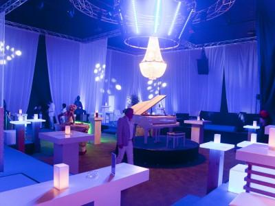 Inrichting en decoratie Ibiza Club en symposium ruimte Hooymans (2)